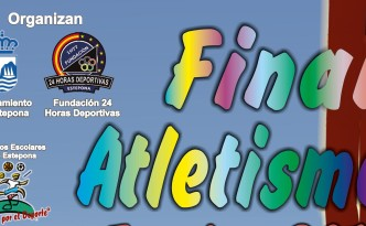 Cartel Final Atletismo Escolar 2017